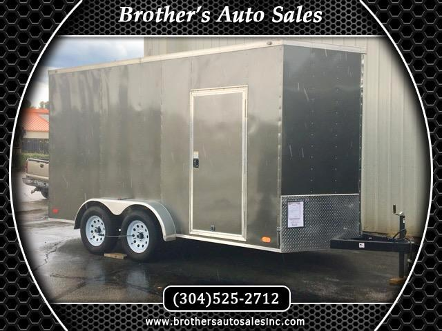 2018 Nex Haul 7 x 14 Enclosed Trailer Extra Height