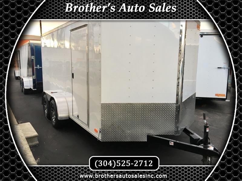 2019 Nex Haul 7 x 14 Enclosed Trailer TA