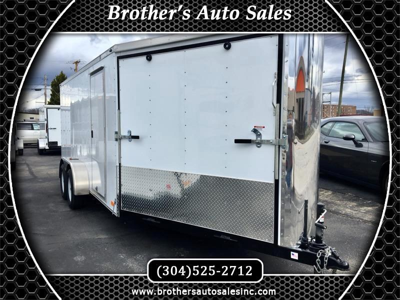 2019 Nex Haul 7 x 16 Enclosed Trailer Dual Access