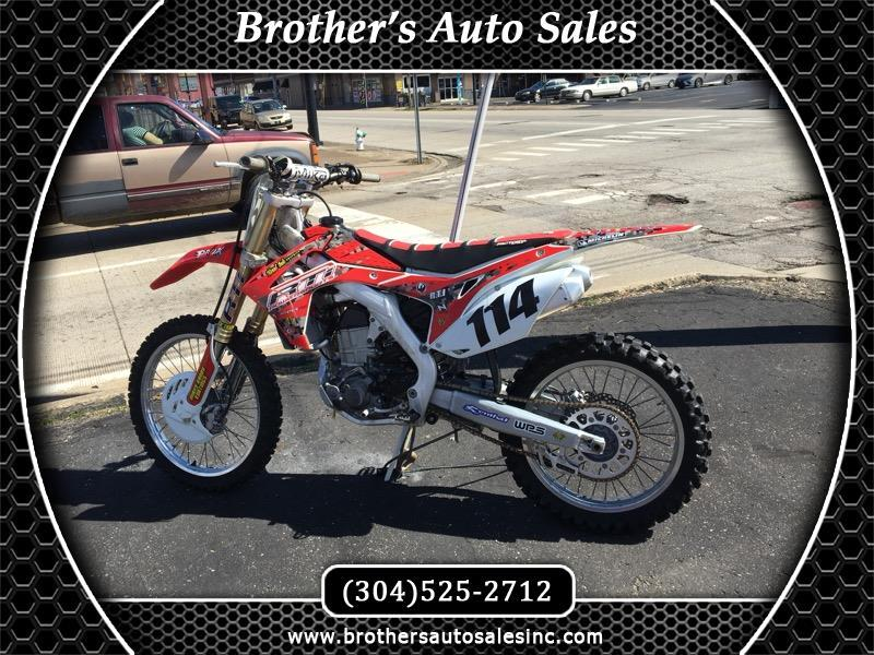 2015 Honda CRF450R Dirt Bike