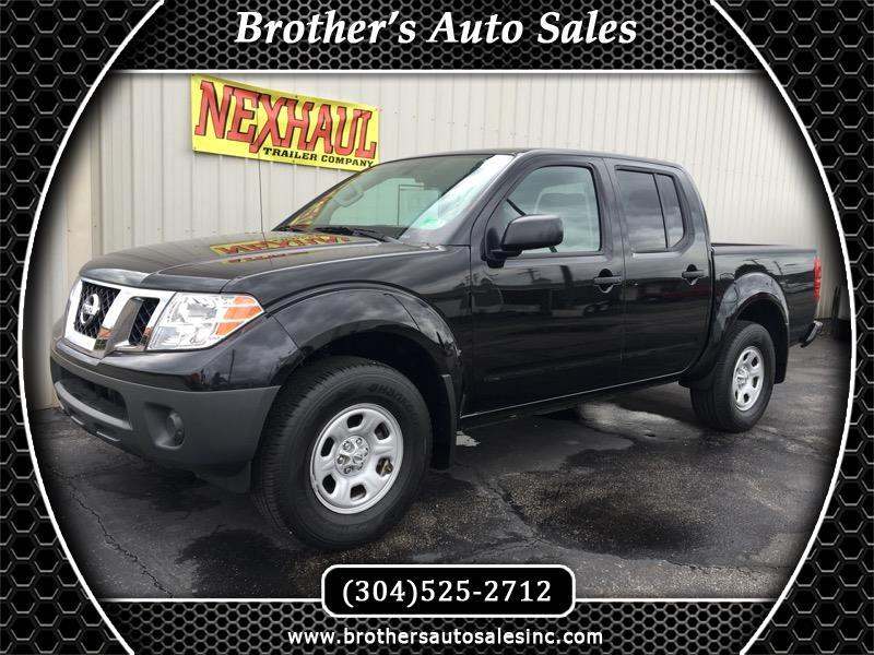 2018 Nissan Frontier S Crew Cab V6 4WD