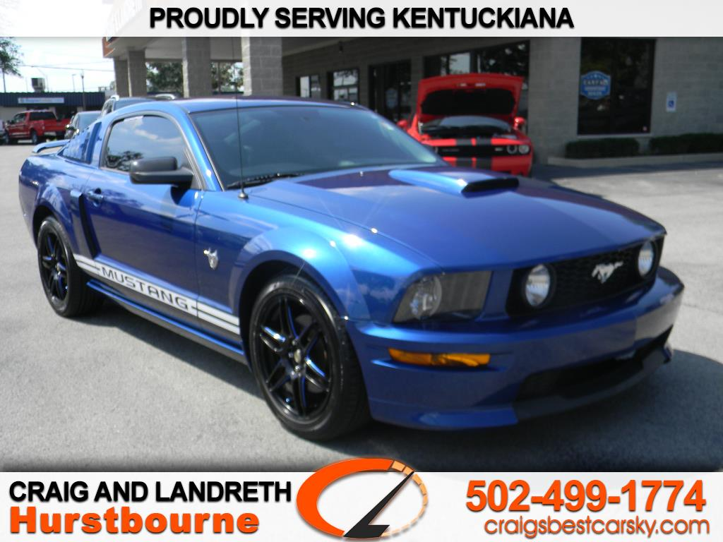 2009 Ford Mustang 2dr Cpe GT