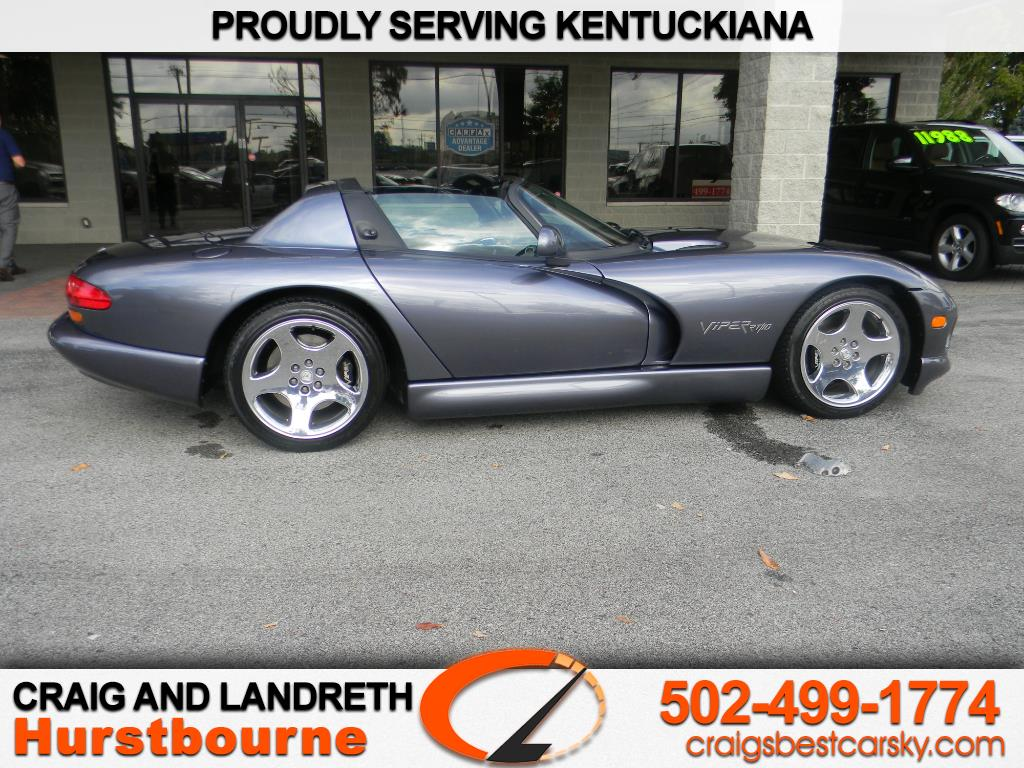 2000 Dodge Viper 2dr RT/10 Convertible