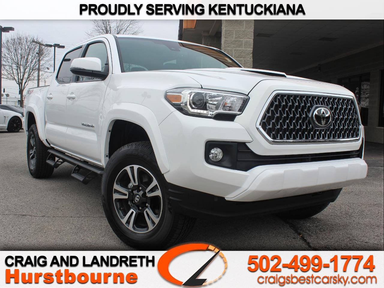 2019 Toyota Tacoma TRD Sport Double Cab 5' Bed V6 4x4 AT (Natl)