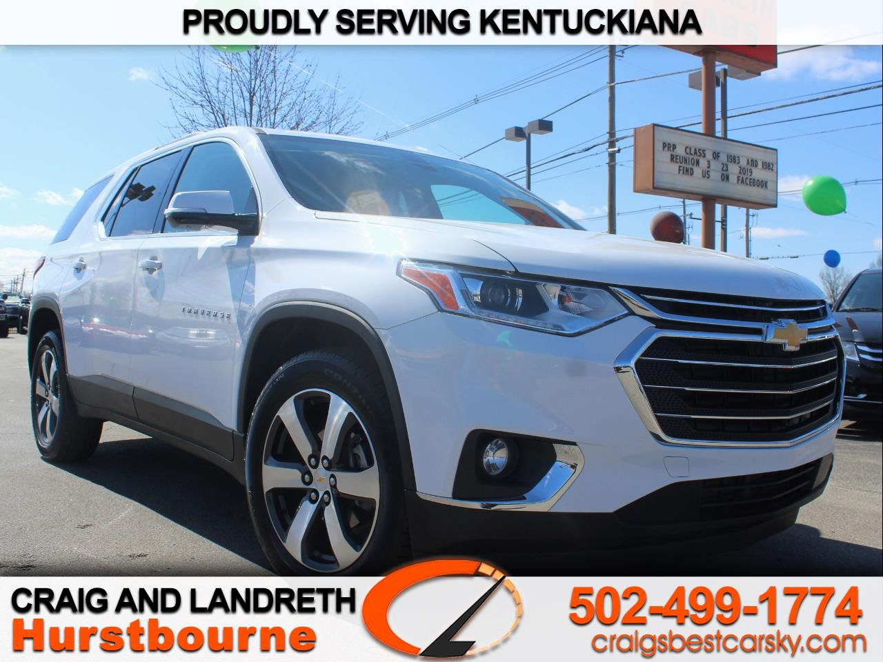 2019 Chevrolet Traverse LT Feather AWD