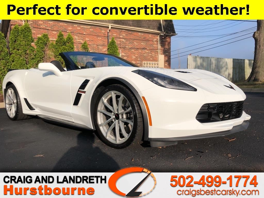 Chevrolet Corvette Grand Sport Preferred w/2LT Convertible Auto 2019
