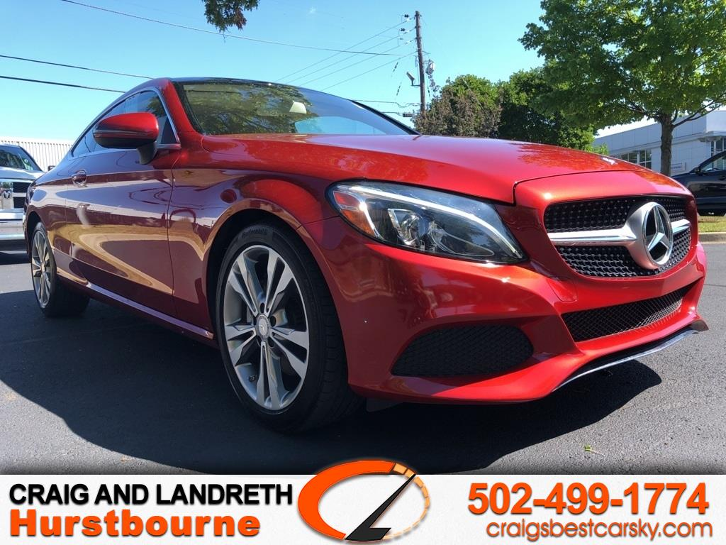 Mercedes-Benz C-Class C300 4MATIC Coupe 2017
