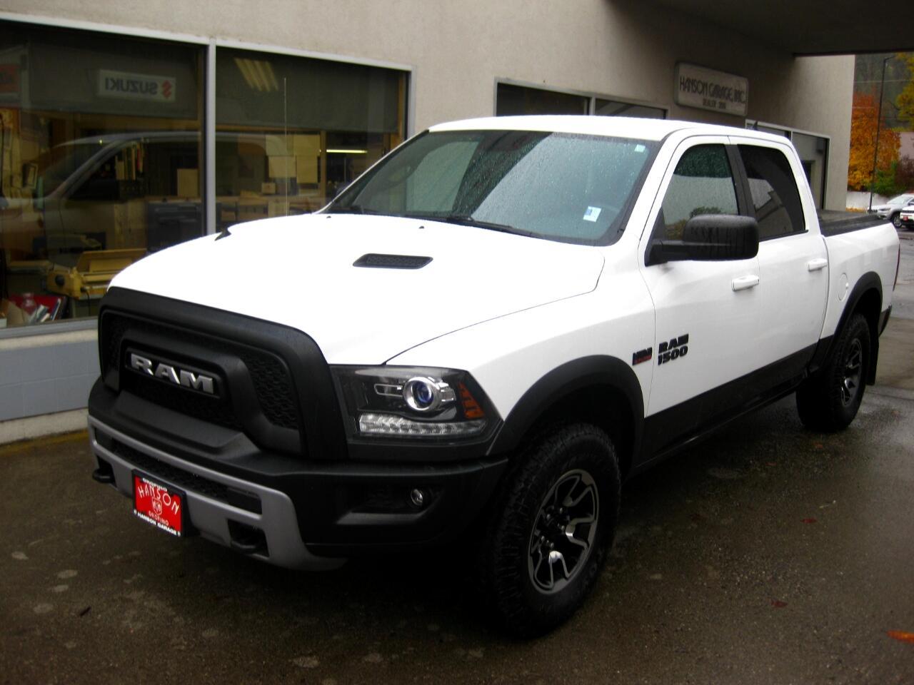 "2016 RAM 1500 4WD Crew Cab 140.5"" Rebel"