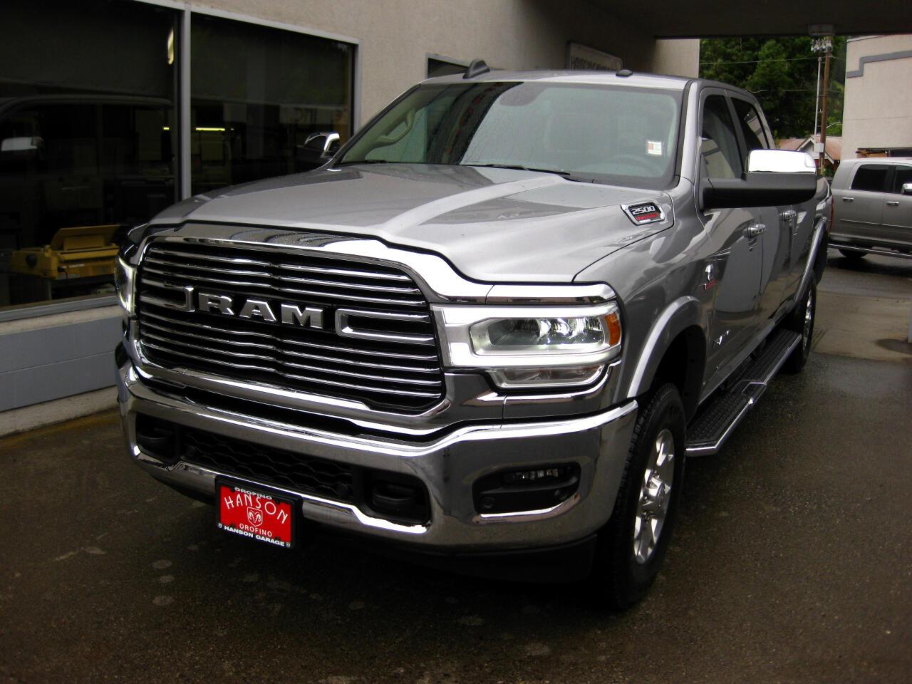 2019 RAM 2500 Laramie 4x4 Crew Cab 8' Box
