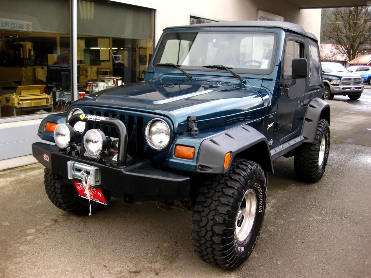 Jeep Wrangler 2dr Sport 1997