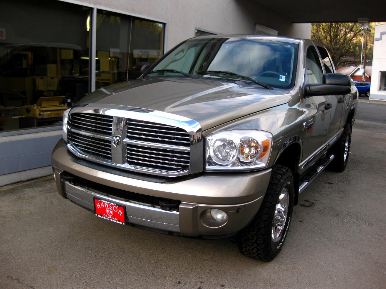 """Dodge Ram 2500 4WD Quad Cab 140.5"""" Laramie 2008"""