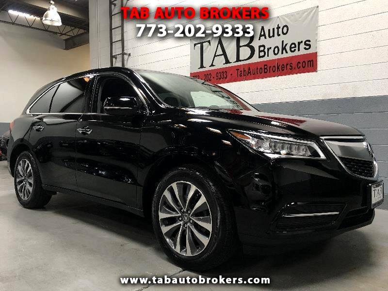 Acura MDX SH-AWD 9-Spd AT w/Tech Package 2016