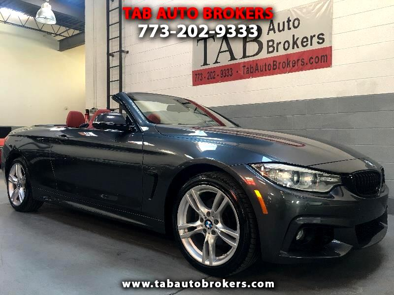 2015 BMW 4-Series 428i xDrive convertible with M Sport Package