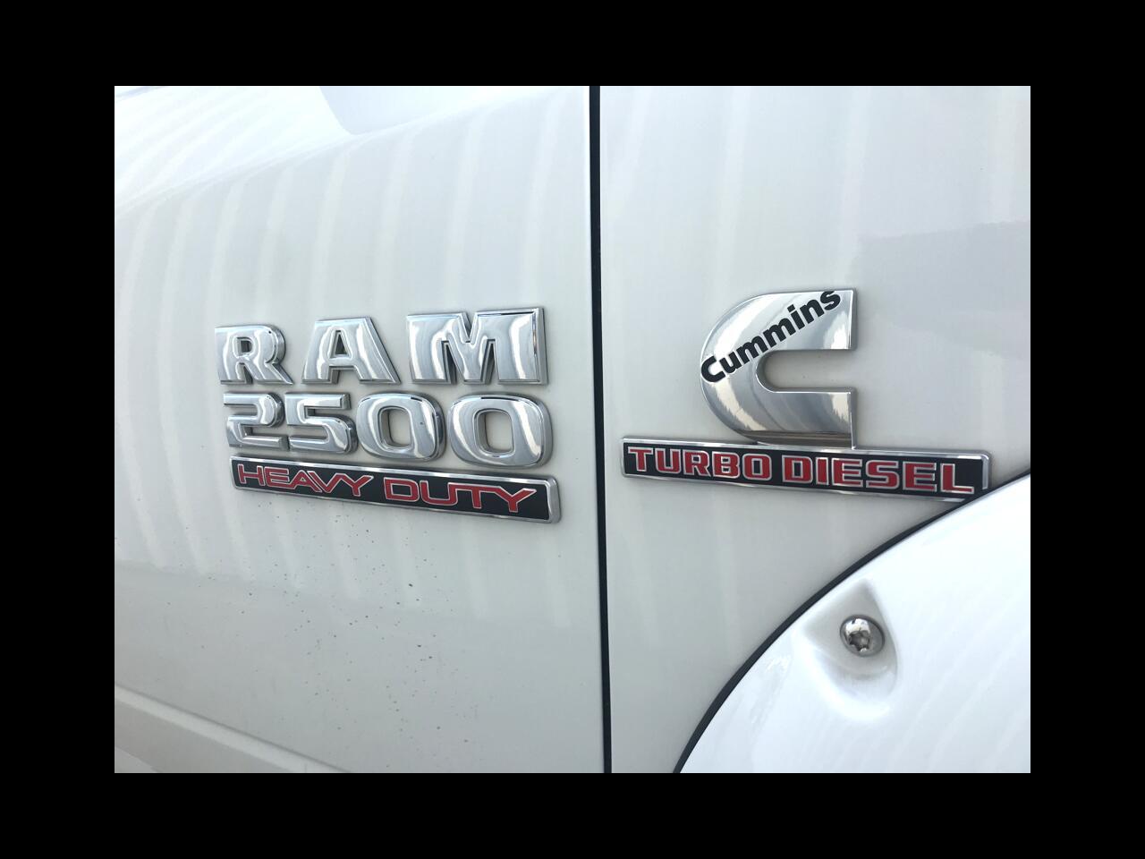 2016 RAM 2500 SLT Crew Cab SWB 4WD