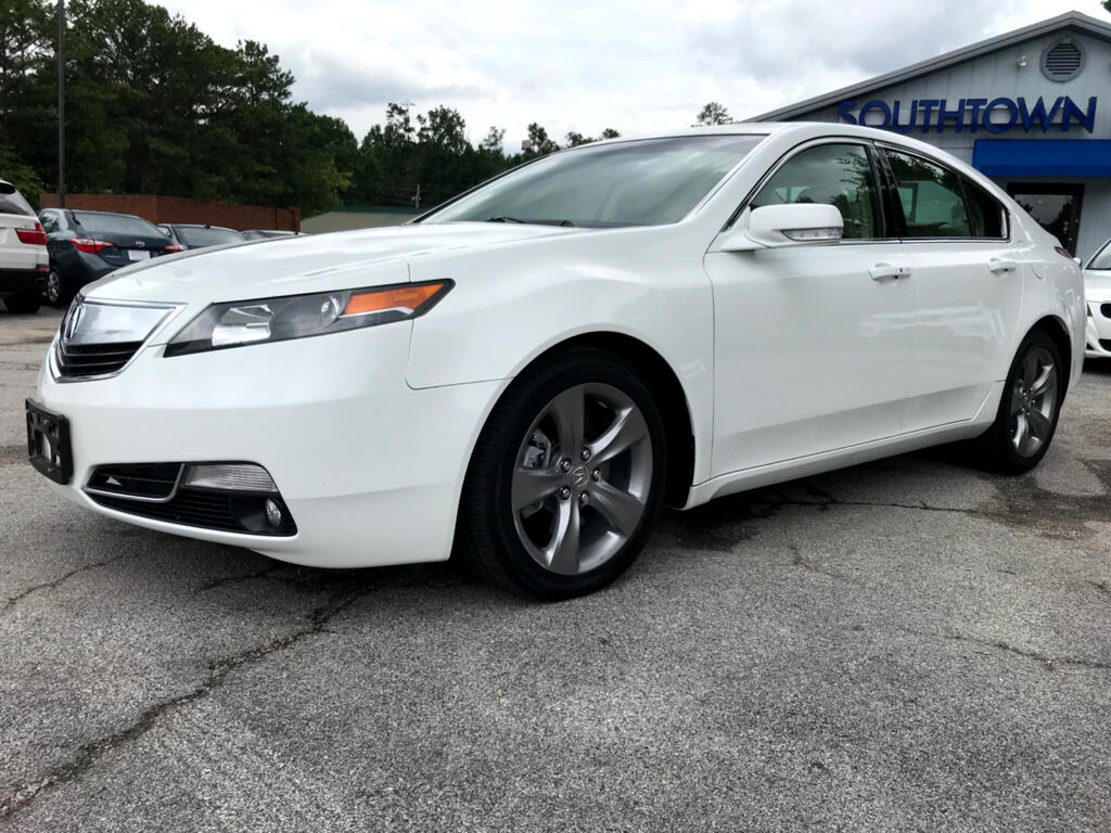 2013 Acura TL 6-Speed AT with Advance Package