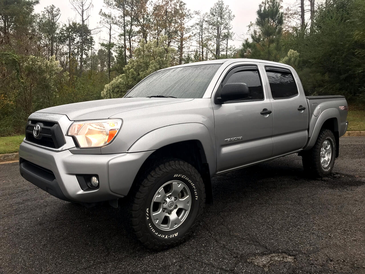 2014 Toyota Tacoma 4WD TRD Off Road Double Cab 5' Bed V6 MT (Natl)
