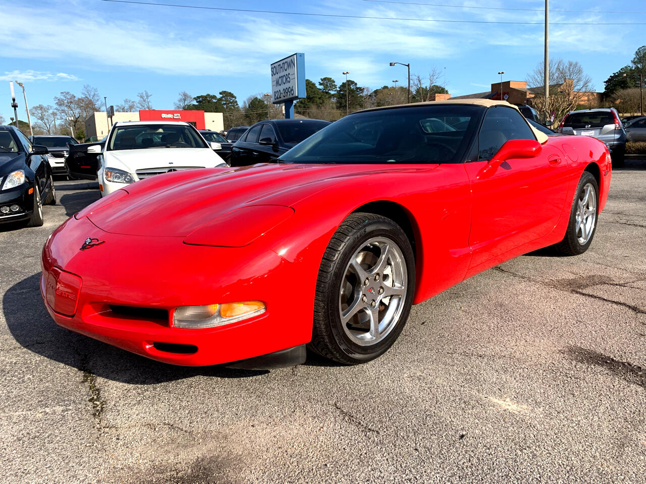 2000 Chevrolet Corvette 1LT Coupe Automatic
