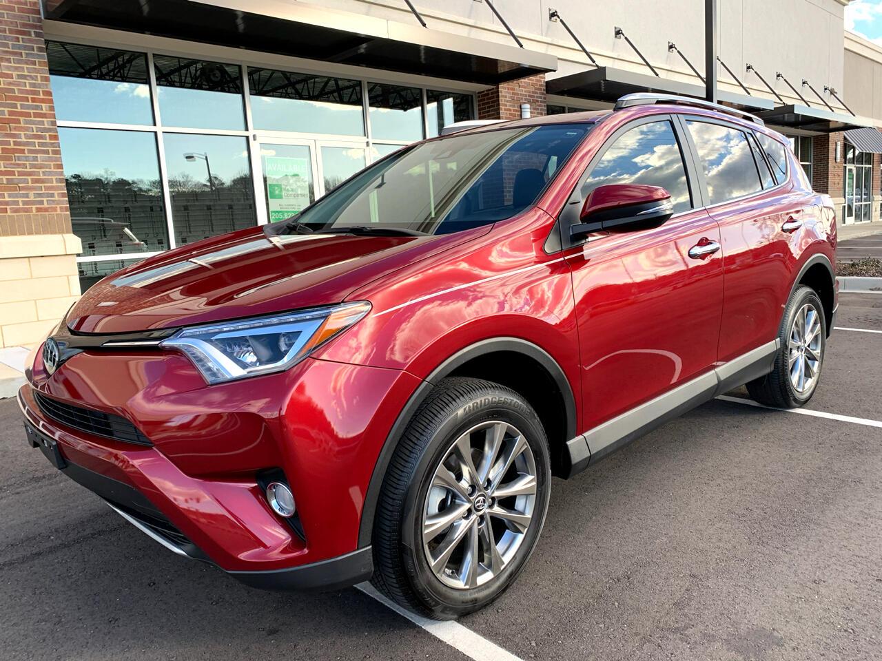 Toyota RAV4 Limited FWD 2018