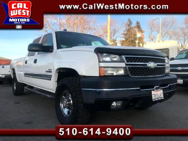2005 Chevrolet Silverado 2500HD 4X4 Crew Cab 8FT LS Duramax-Allison 1Owner ExClean