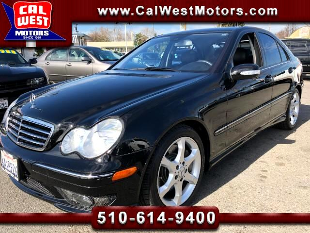 2007 Mercedes-Benz C-Class C230 Sport Sedan HKAudio Leathr Roof 1Owner ExClea