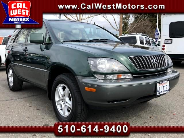 2000 Lexus RX 300 AWD SUV 5D 1Owner LowMiles SuperClean GreatMtnce