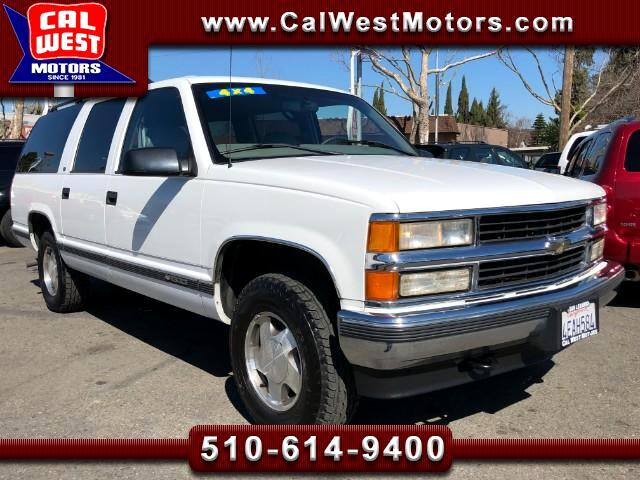 1999 Chevrolet Suburban LT 3Rows Leather 1Owner SuperClean GreatMtnceHist