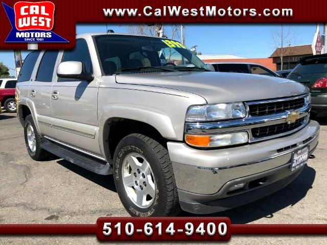 2005 Chevrolet Tahoe 4X4 LT 3Rows Leather 1Owner LowMiles SuperNice