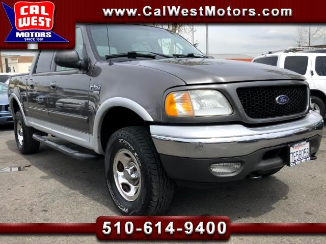 2003 Ford F-150 4X4 SuperCrew XLT 1Owner LowMiles VeryClean Origin