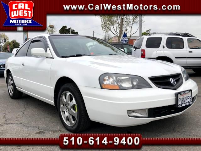 2002 Acura CL 3.2CL Coupe Auto Mroof Leathr SuperClean GreatMtnc