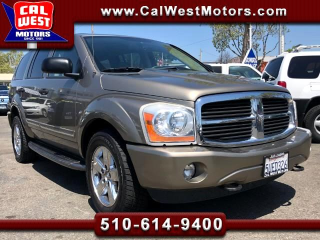 2006 Dodge Durango 4X4 Limited SUV 5D 3Row DVD Roof Lethr 1Owner Nice