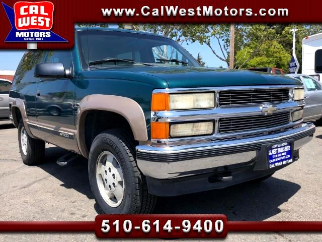 1995 Chevrolet Tahoe 4X4 2-Door SuperClean ExcelMtnceHist