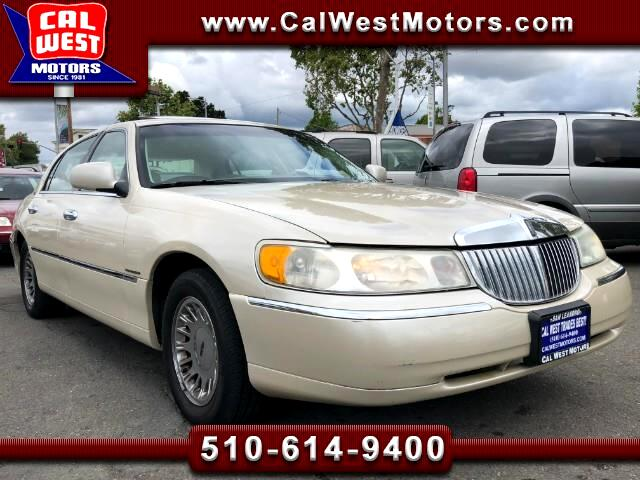2000 Lincoln Town Car Cartier Premium Edition LowMiles VeryClean 1Owner
