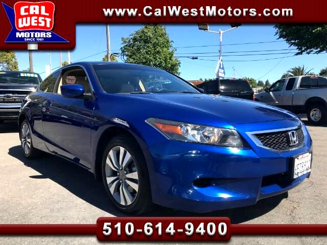 2008 Honda Accord EX Coupe 2D Roof 6CD 49K 1Owner LikeNew GreatMtnce