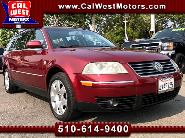 2002 Volkswagen Passat Wagon GLX Wagon V6 Auto Leathr MnRoof LowMiles VeryClean