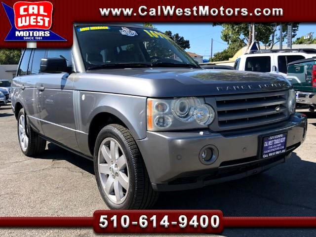2007 Land Rover Range Rover 4WD HSE 5D 1Owner LowMiles SuperClean GreatMtnceHi