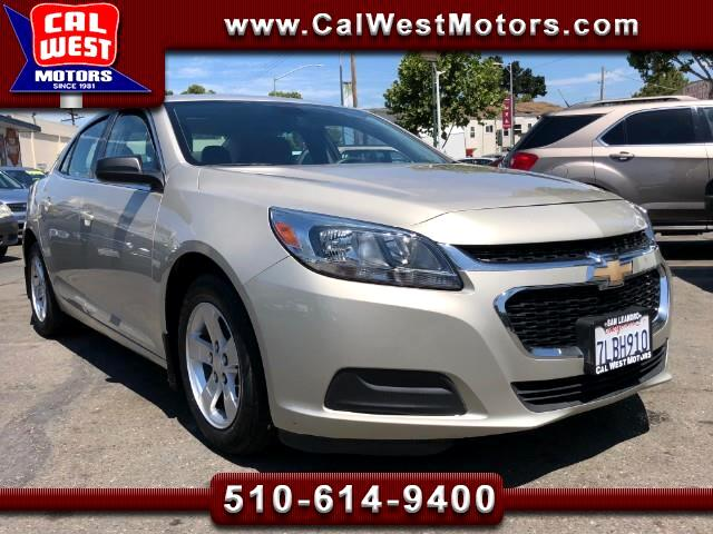 2015 Chevrolet Malibu Factory Warranty Excellent MPG Bluetooth Aux