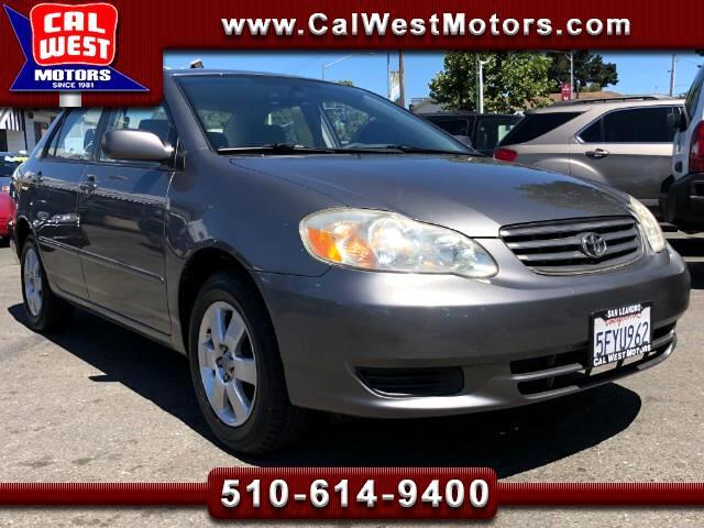 2004 Toyota Corolla LE Sedan LowMiles VeryClean EZ-Financing