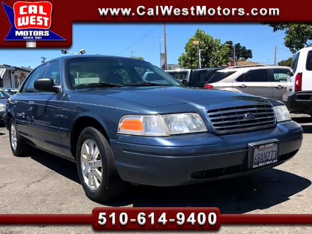 2008 Ford Crown Victoria LX Sedan RWD Leather VeryClean GreatMtnceHist