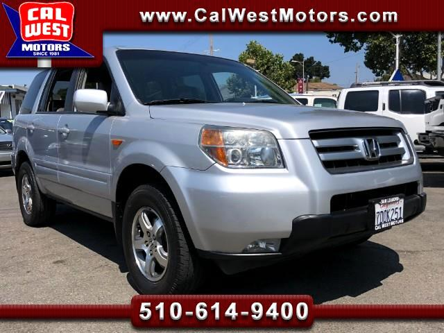 2006 Honda Pilot EX-L 4WD 3Rows Leathr MnRoof VeryClean GreatMtnceH