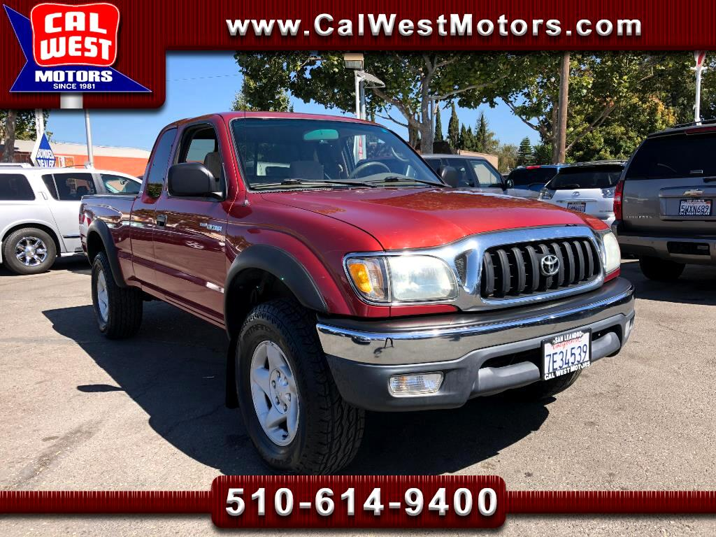 2003 Toyota Tacoma 4X4 XtraCab V6 TRD-OffRoad 1Owner LowMiles ExMtnce