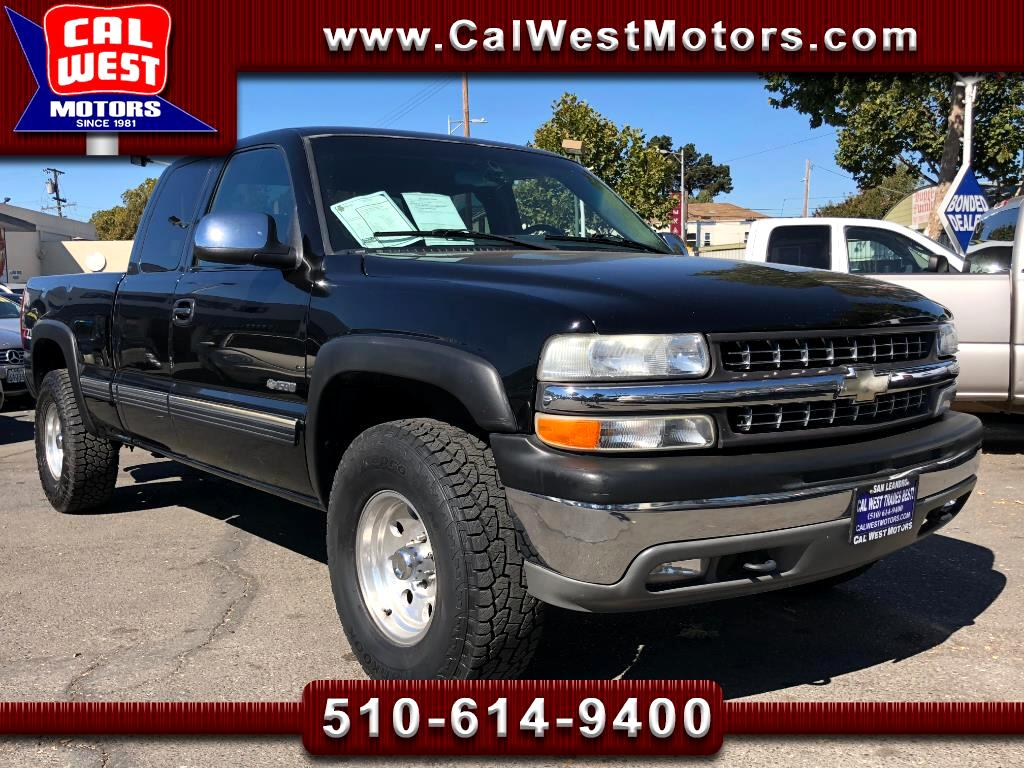 2001 Chevrolet Silverado 1500 4X4 Ext Cab 4D Z71OffRoad Leather 1Owner SuprClean