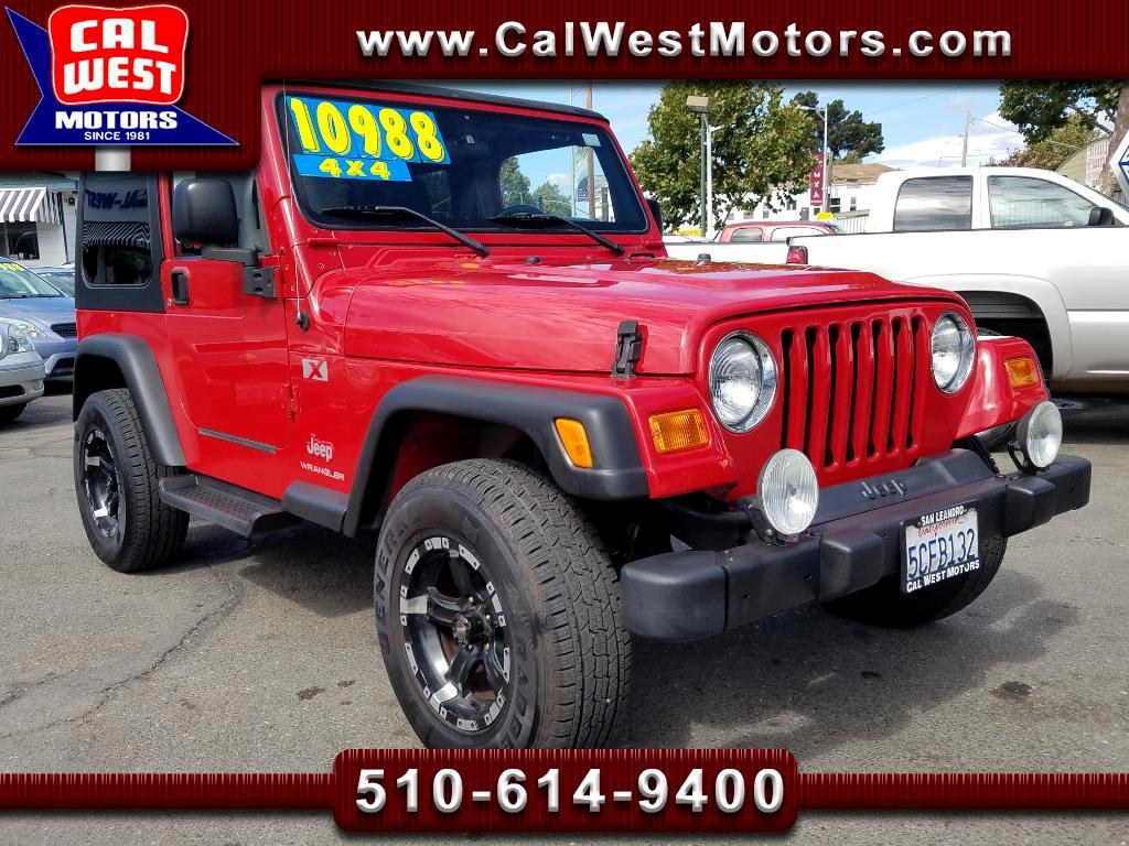 2003 Jeep Wrangler X I-6Cyl  5-Speed HardTop 1Owner VeryClean GreatMt