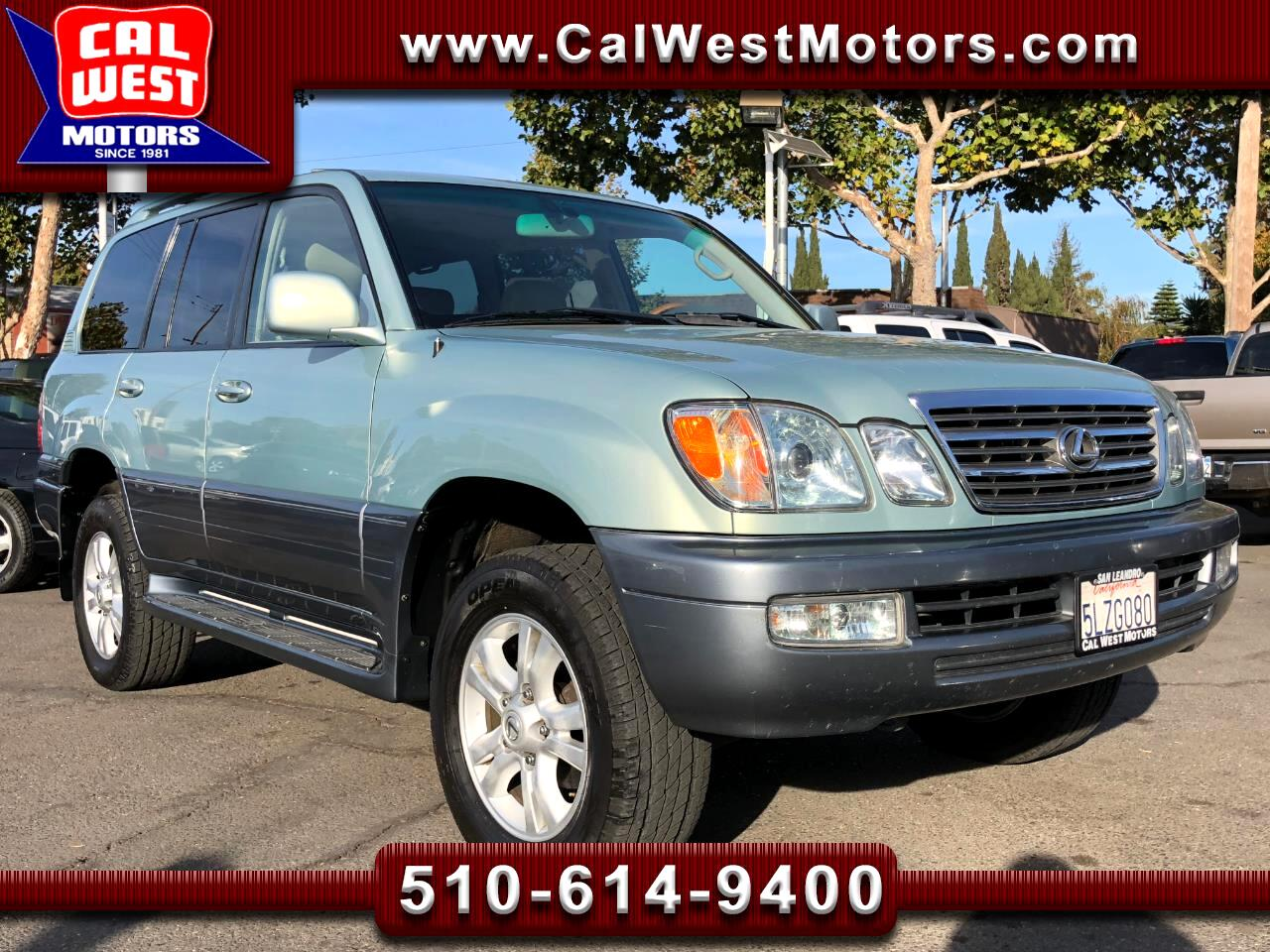 2005 Lexus LX 470 4X4 NAV Blu2th 3Rows 1Owner SuperClean