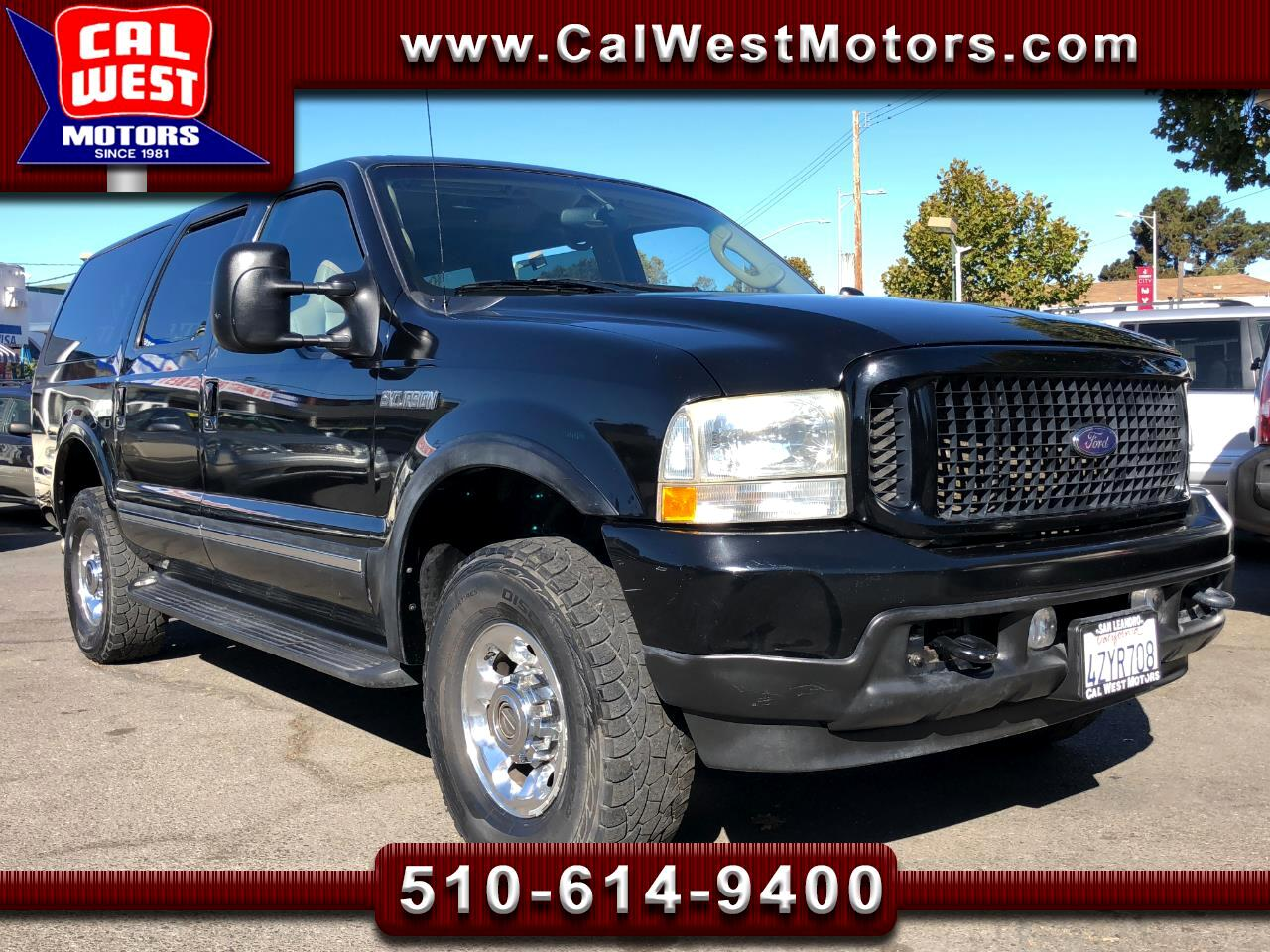 2003 Ford Excursion 4X4 Limited 3Rows Powerful VeryClean GreatMtnceHis