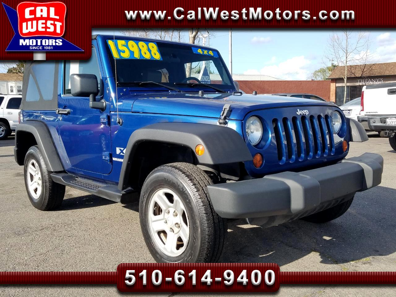 2009 Jeep Wrangler 4X4 V6 5-Speed Leathr LoMiles 1Owner GreatMtnceHis