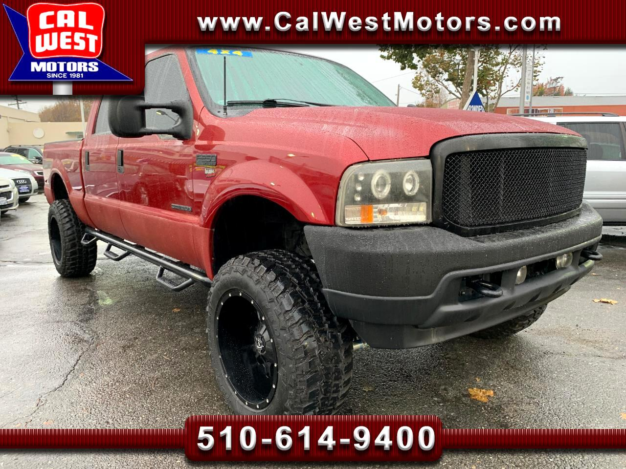 2001 Ford F-250 SD 4X4 Crew Cab 7.3PowerStrokeDiesel SuperClean ExMtn
