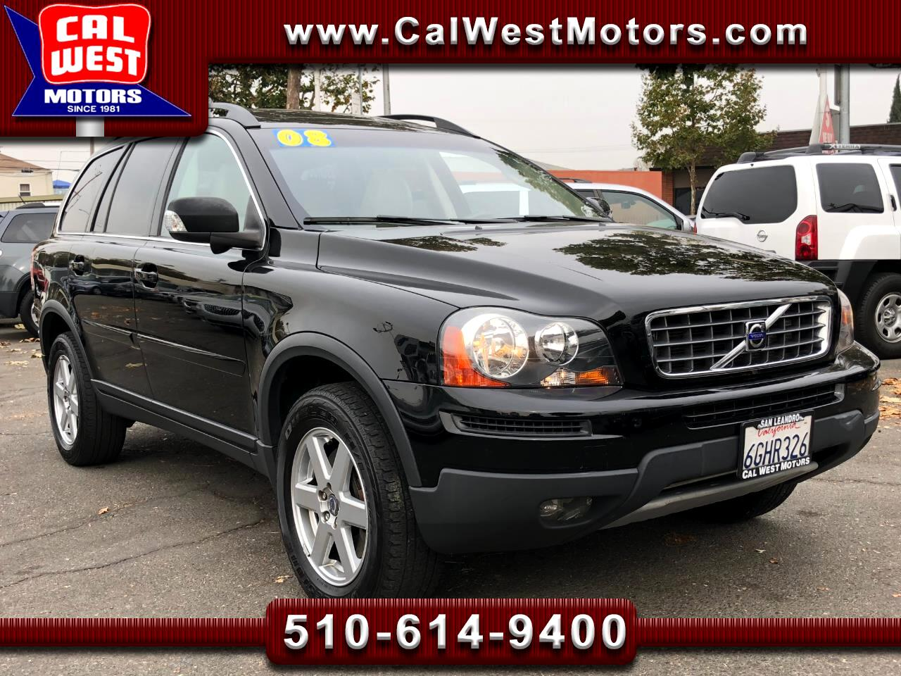 2008 Volvo XC90 3.2 SUV 5D 3Rows Leathr VeryClean GreatMtnce