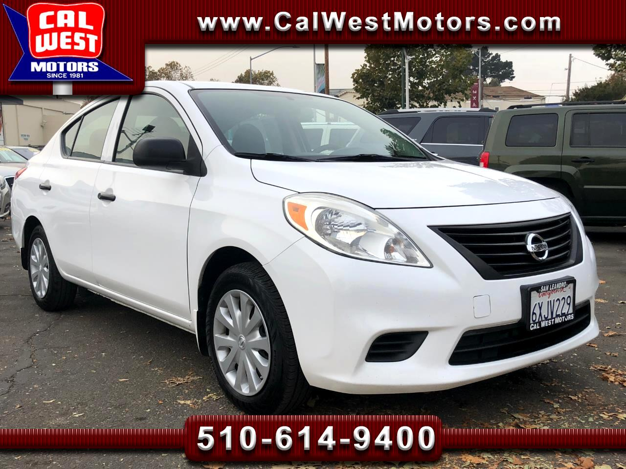 Used 2013 Nissan Versa For Sale In San Leandro Ca 94577 Cal West Motors