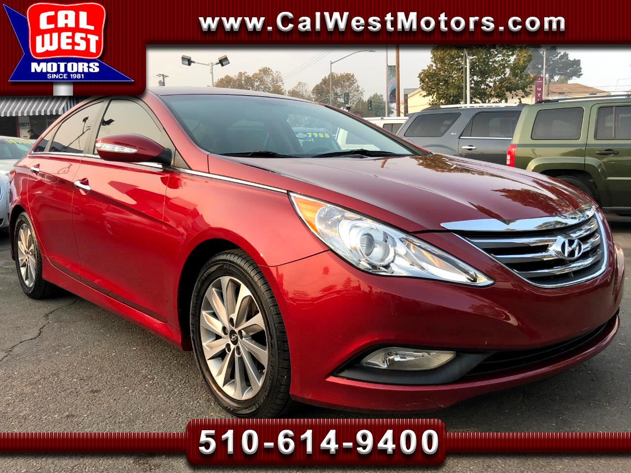 2014 Hyundai Sonata Limited 2.0T Leather Blu2th 1Owner FactoryWarranty