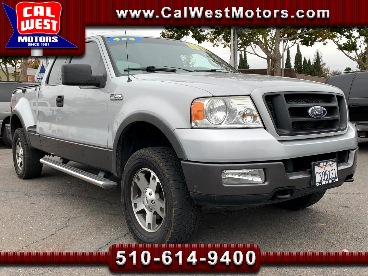 2004 Ford F-150 4WD SuperCab StepSide FX4 Leather VeryClean